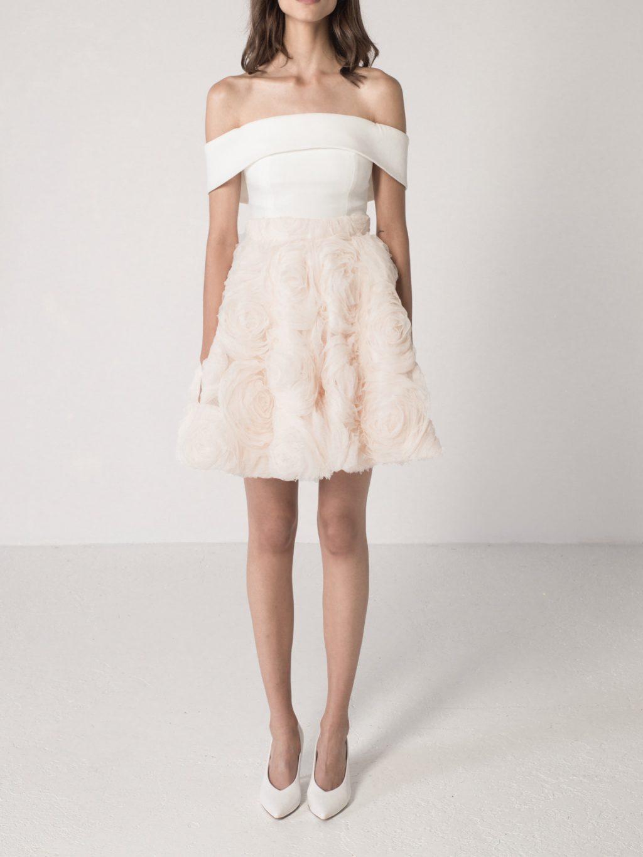3D Roses Skirt