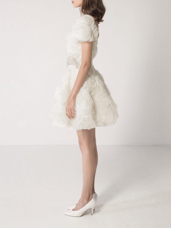3D Roses Dress